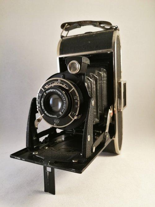 camera  bellows  retro
