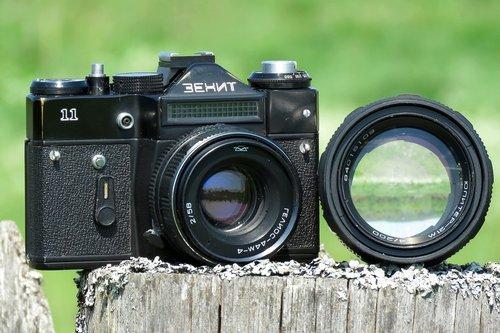 camera  zenith  lens