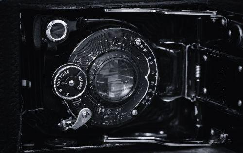 camera inner workings antique