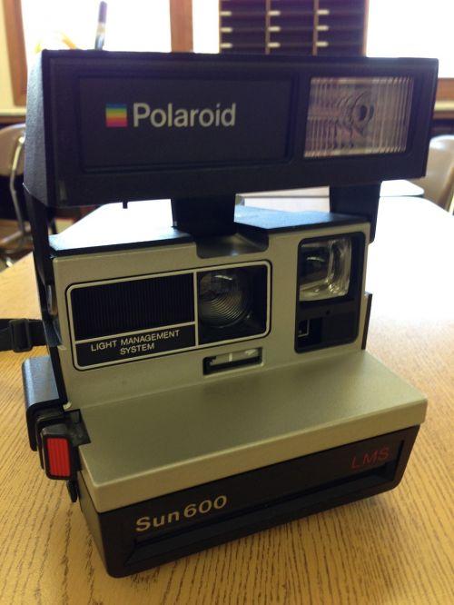 camera polaroid old