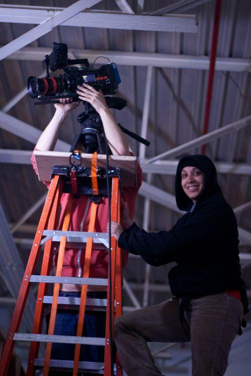 camera crew film