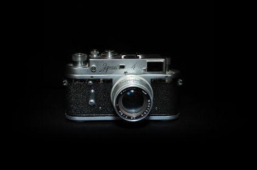 camera black night