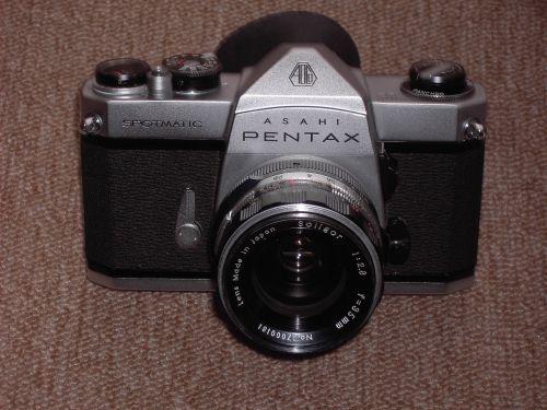camera pentax old