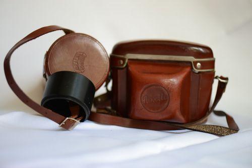 camera bag soft lens case old