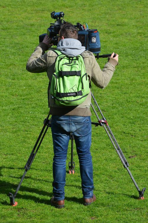 camera cameraman job people