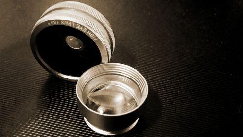 Camera Phone Lenses Sepia