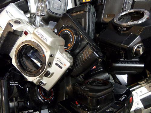 cameras junk broken
