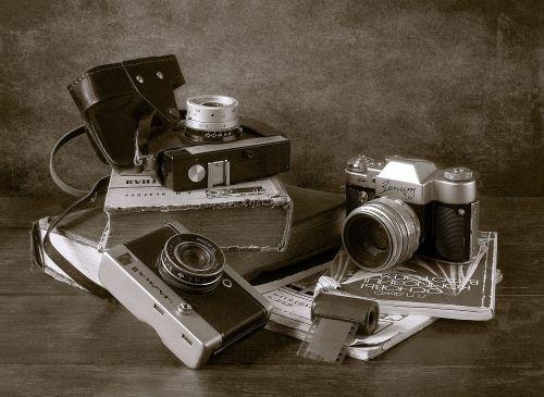 cameras books film
