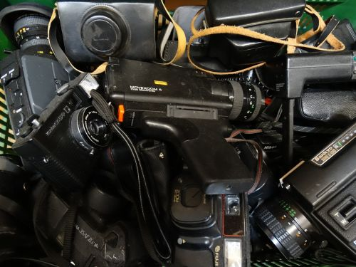 cameras old nostalgia