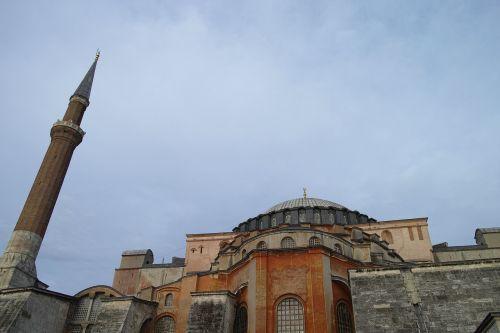 cami hagia sophia historical city