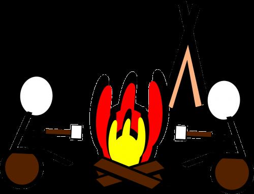 camp camping campfire