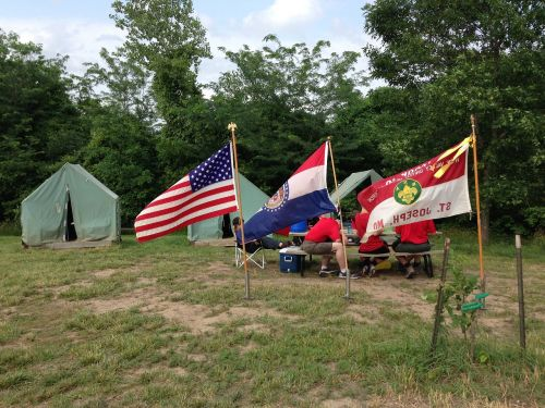 camp tent flags