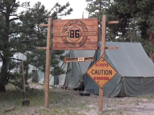 camp scout outdoor