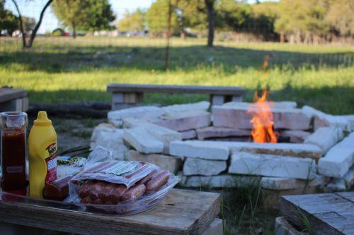 camp fire fire pit camp