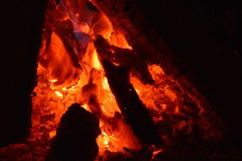 Camp Fire Embers