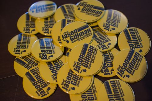 campaign buttons elect