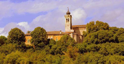 campanile church green