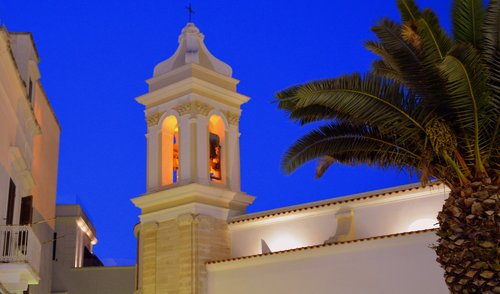campanile  church  vieste