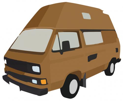 camper bus transporter