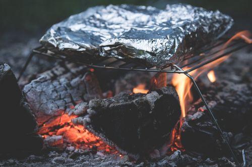 campfire fireplace fire