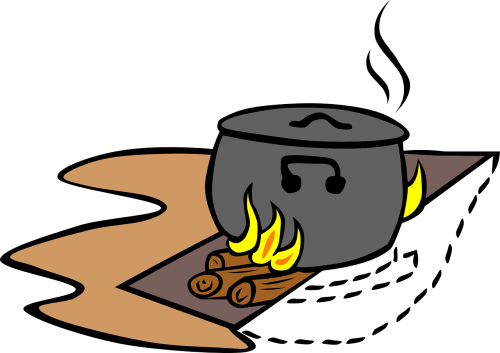 campfire cookout campfires