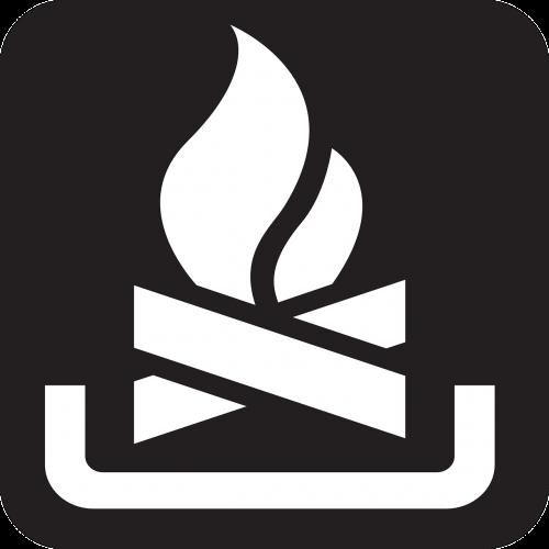 campfire bonfire fire