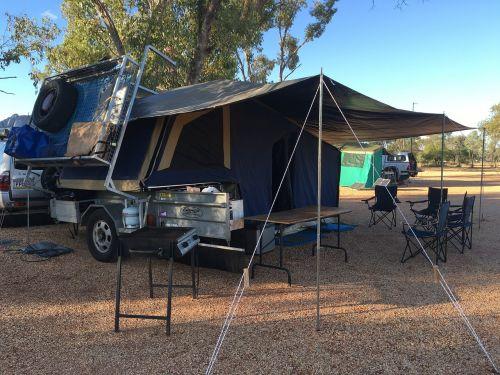 camping camp camper