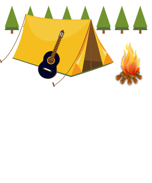 camping  tents  fireplace