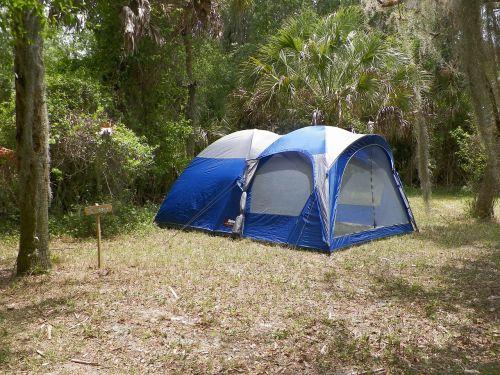 camping tent camp