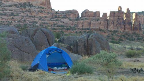 camping tent nature