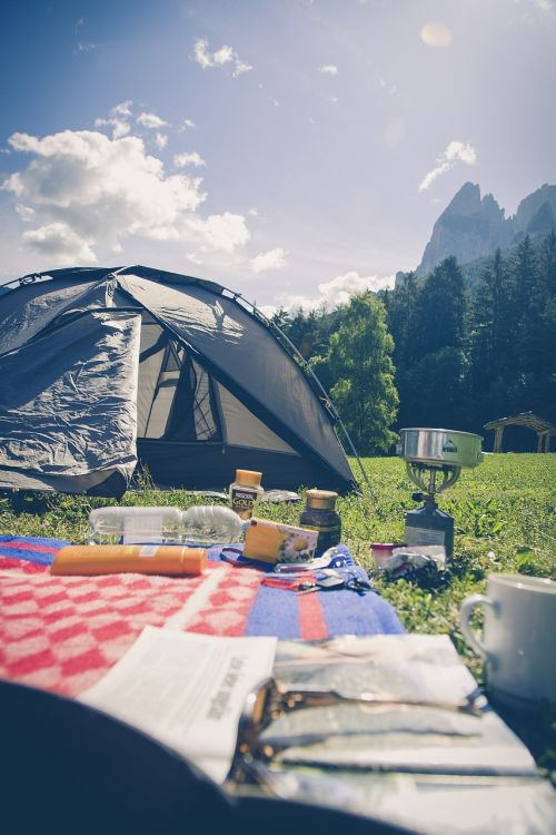 camping camp nature