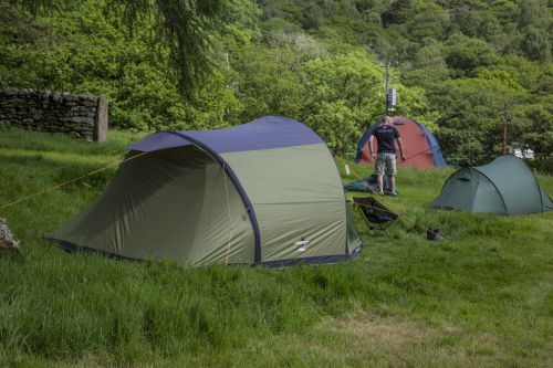 Camping And Tent