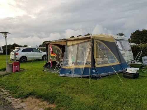 campsite caravan denmark