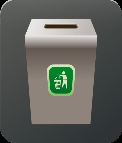 can trash bin