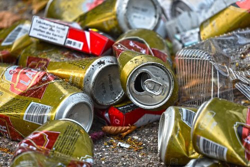 can  tin  empty cans