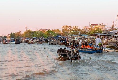 can tho  cai rang  river
