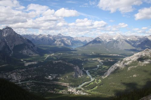 canada mountains rockies