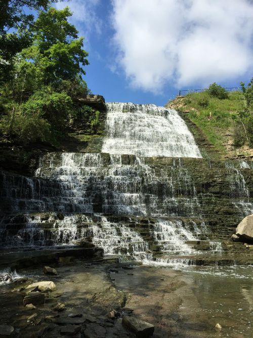 canada ontario albion falls