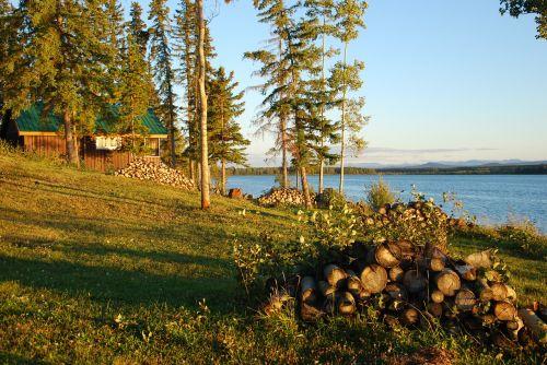 canada lake campsite