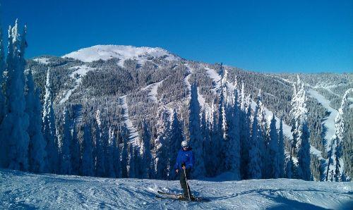 canada snow skiing