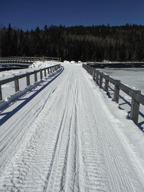 canada snowmobiling winter