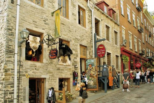 canada quebec old town