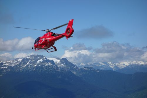 canada whistler helicopter