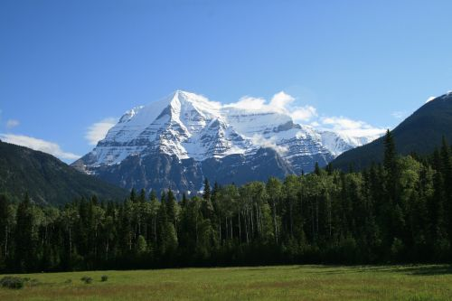 canada mount robson rocky mountains
