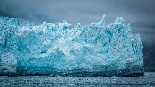 canada  margerie glacier  nature