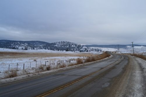 canada nature road