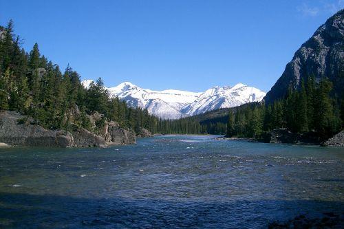 canada banff nature