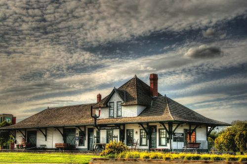 canada train station depot