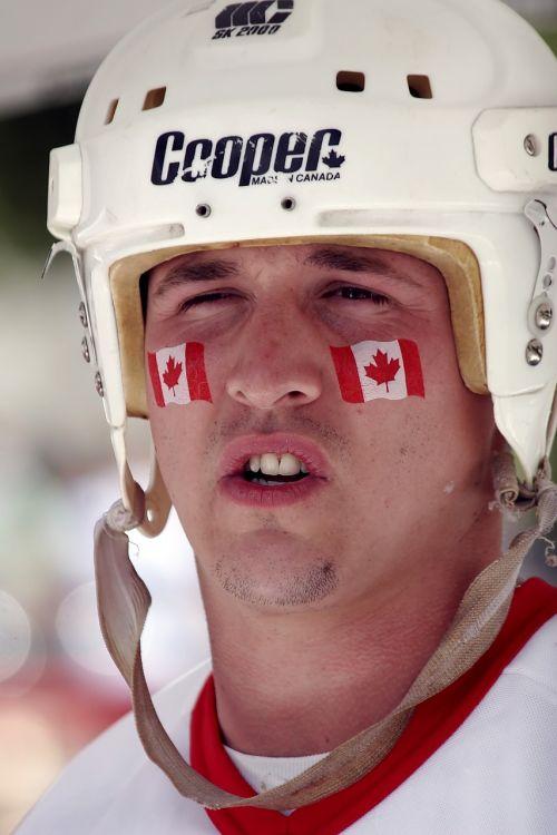 canada day canadian helmet