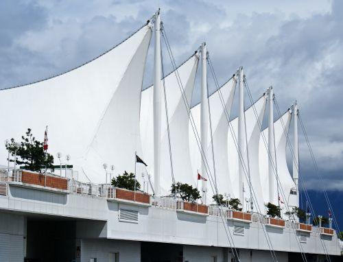 Canada Place Vancouver Sails